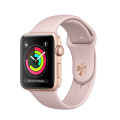 Apple Watch Series 3 GPS 38mm, viền nhôm, dây cao su - New