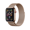 Apple Watch Series 4 GPS + LTE 44mm, viền thép, dây Milanese Loop - New