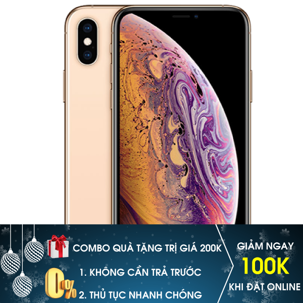 iPhone Xs Max 64GB New (2 sim vật lý)
