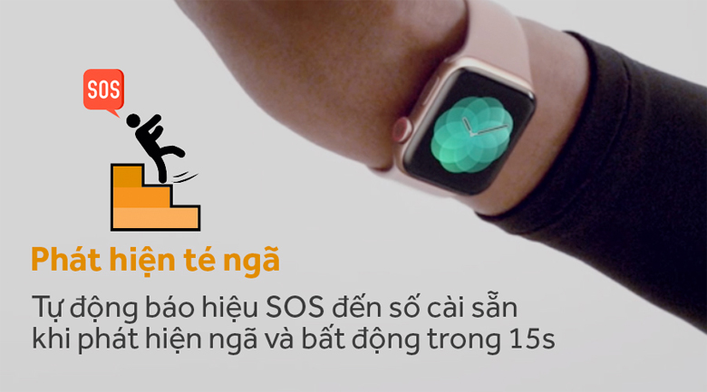 Apple Watch Series 4 GPS 40mm, viền nhôm, dây cao su - New