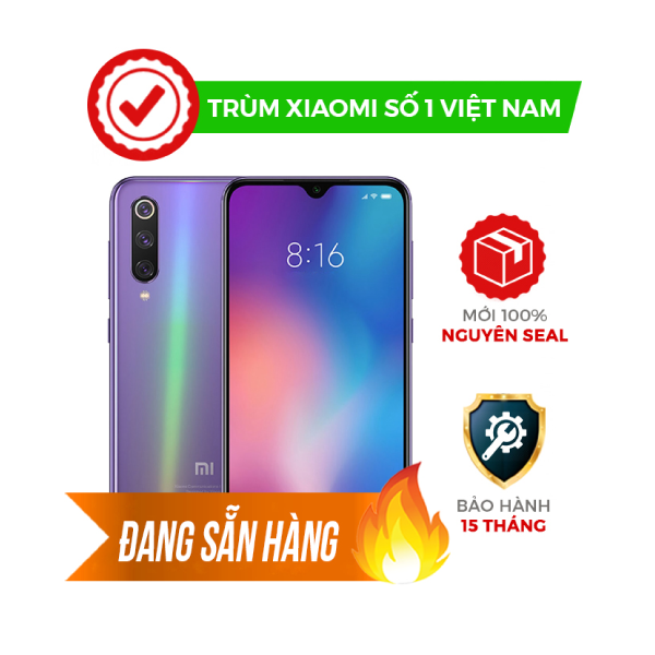 Xiaomi Mi 9 6GB/128GB New Fullbox 100%