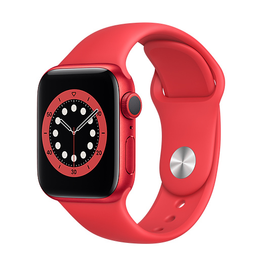 Apple Watch Series 6 GPS 40mm, Viền Nhôm, Dây Cao Su - New