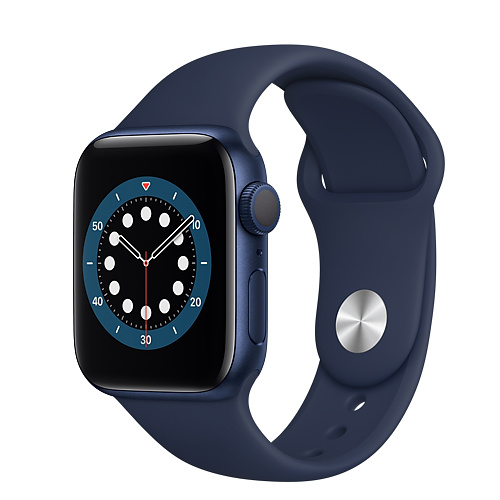 Apple Watch Series 6 LTE 40mm, Viền Nhôm, Dây Cao Su - New